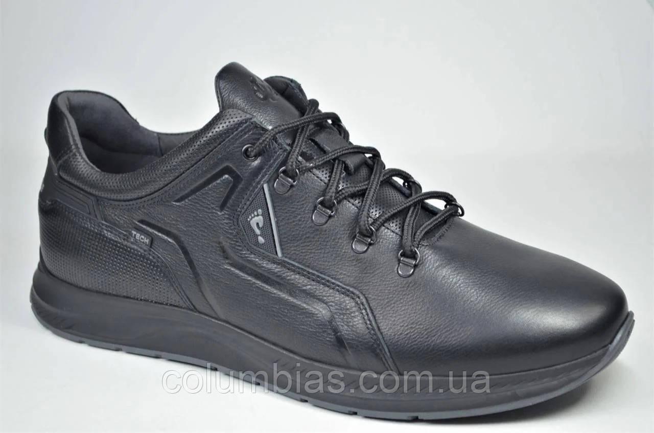 Польские мужские кожаные кроссовки