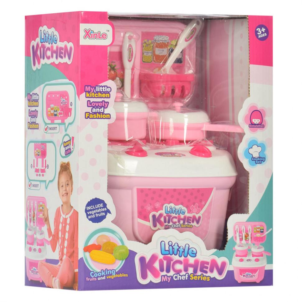 Игровой набор Кухня 865C посуда, кухон. принадлежности