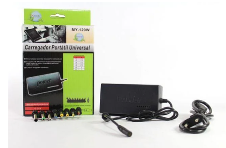 Универсальный адаптер для ноутбука 120W, Зарядное устройство для ноутбуков MY 120W, Зарядка для laptop, фото 2