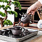 Піднос для чайного сервізу, нержавіюча сталь 32*25 см чабань, фото 2