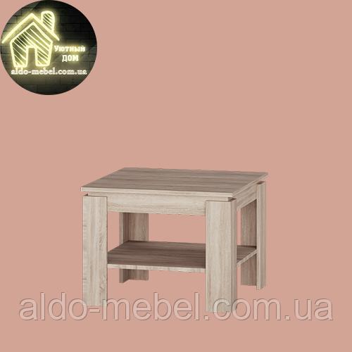 Журнальний стіл,столик Соната 610 (610*610*460) Еверест