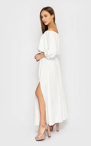 Белый женский костюм на лето, фото 2