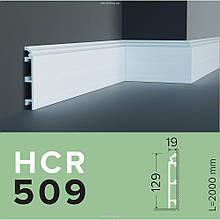 ПЛІНТУС  GRAND DECOR HCR 509 (2.00М) для стен с полимеру