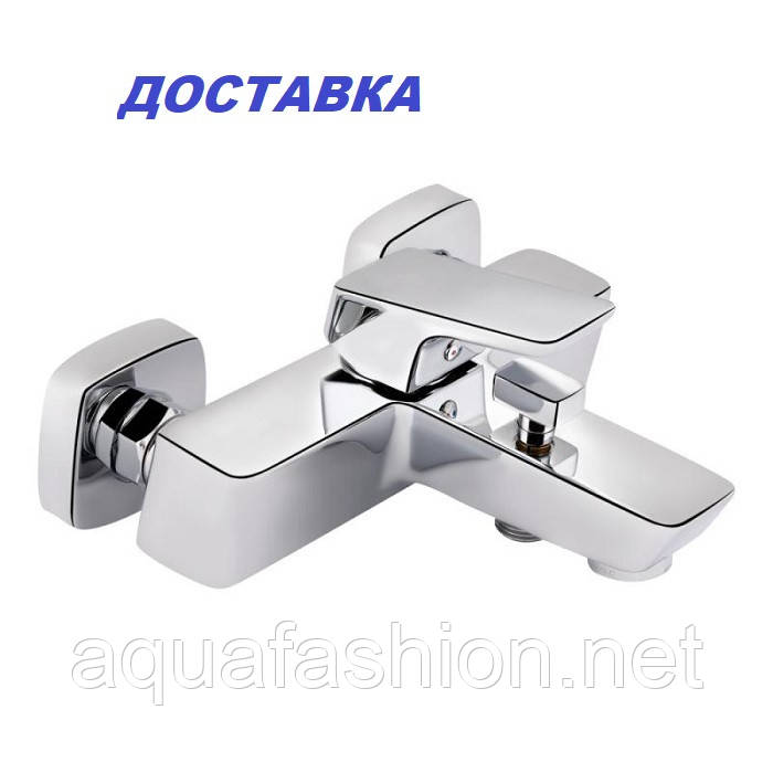 Дизайнерський змішувач для ванни QT Náměstí 3025102DC