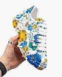 💕 Кросівки, кеди жіночі Alexander McQueen білі різнокольорові розмальовані александер макквін кастомні, фото 7