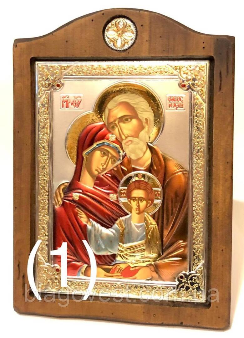 """Ікона св. Сімейство """"Sinay Silver"""" (170х210мм) Ш"""