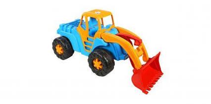 """Машинка """"Трактор"""" (голубой) 150"""
