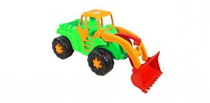 """Машинка """"Трактор"""" (салатовый) 150"""