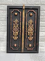 Дверца под коптилку 600х500мм метал 3мм