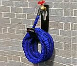 Садовый шланг для полива 22,5 метров Magic hose + распылитель. Саморастягивающийся шланг, фото 8