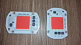 №56 Фито Светодиод 30 ватт 220В Smart IC led 30w 220v полный фитоспектр фито для растений 1.5 мм., фото 5