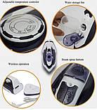 Бездротовий домашній парова праска потужний DSP 1072 керамічний побутової з антипригарним покриттям для прасування, фото 9