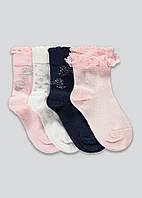 Набір якісних шкарпеток - 4 пари для дівчинки Маталан