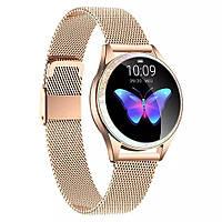 Смарт часы Фитнес браслет KW20 женский с измерением давления и пульса