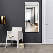 Зеркало ростовое белое 1300 х 600 мм