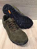 Тактичні кросівки із замші на тракторній підошві, фото 2