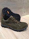 Тактичні кросівки із замші на тракторній підошві, фото 3