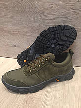 Тактичні кросівки з натуральних матеріалів