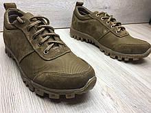 Кросівки чоловічі шкіряні з антиковзною підошвою