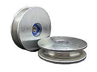 Ролик с підшипником цинк 70 мм
