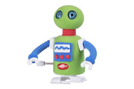 Масса для лепки PAULINDA Super Dough Robot Заводной механизм Зеленый (PL-081178-5), фото 2