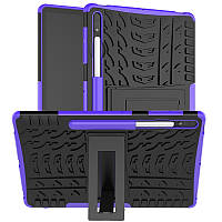 Чехол Armor Case для Samsung Galaxy Tab S7 Plus 12.4 T970 / T975 Purple