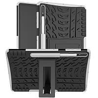 Чехол Armor Case для Samsung Galaxy Tab S7 Plus 12.4 T970 / T975 White