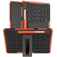 Чехол Armor Case для Samsung Galaxy Tab S7 Plus 12.4 T970 / T975 Orange