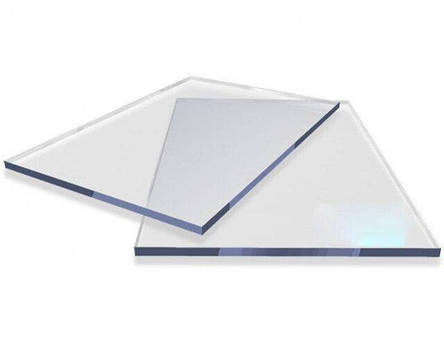 Резаный монолитный поликарбонат Palsun 3мм куски 1523*2050мм Прозрачный, фото 2