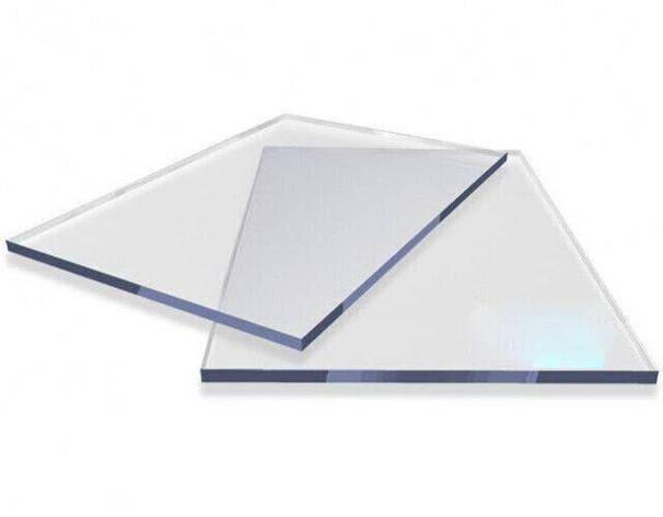 Різаний монолітний полікарбонат Carboglass 1.5 мм шматки 1523*2050мм Прозорий, фото 2
