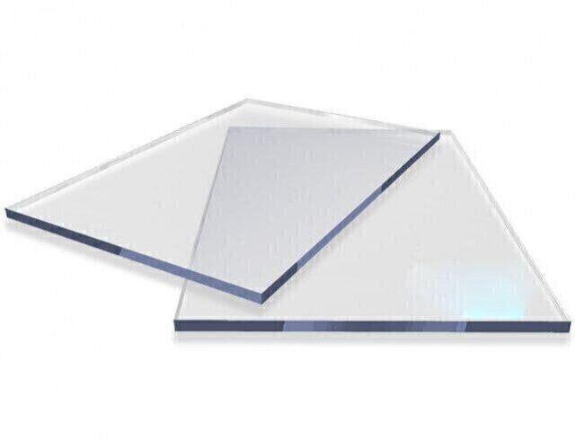 Резаный монолитный поликарбонат Carboglass 4мм куски 1023*2040мм Прозрачный