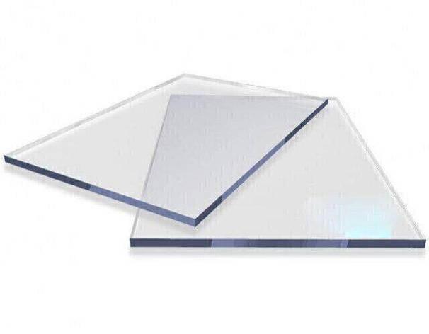 Резаный монолитный поликарбонат Carboglass 4мм куски 1023*2040мм Прозрачный, фото 2