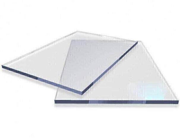 Скла для комбайнів з монолітного полікарбонату Carboglass 6мм шматки 1523*2050мм Прозорий, фото 2
