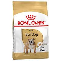 Корм Royal Canin Bulldog Adult, для Бульдогов от 12 месяцев, 12 кг