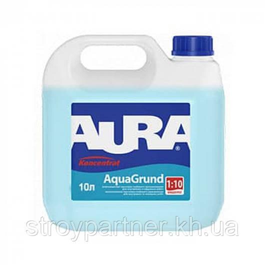 Грунт-концентрат влагозащитный Aura AquaGrund 1:10 (10 л)