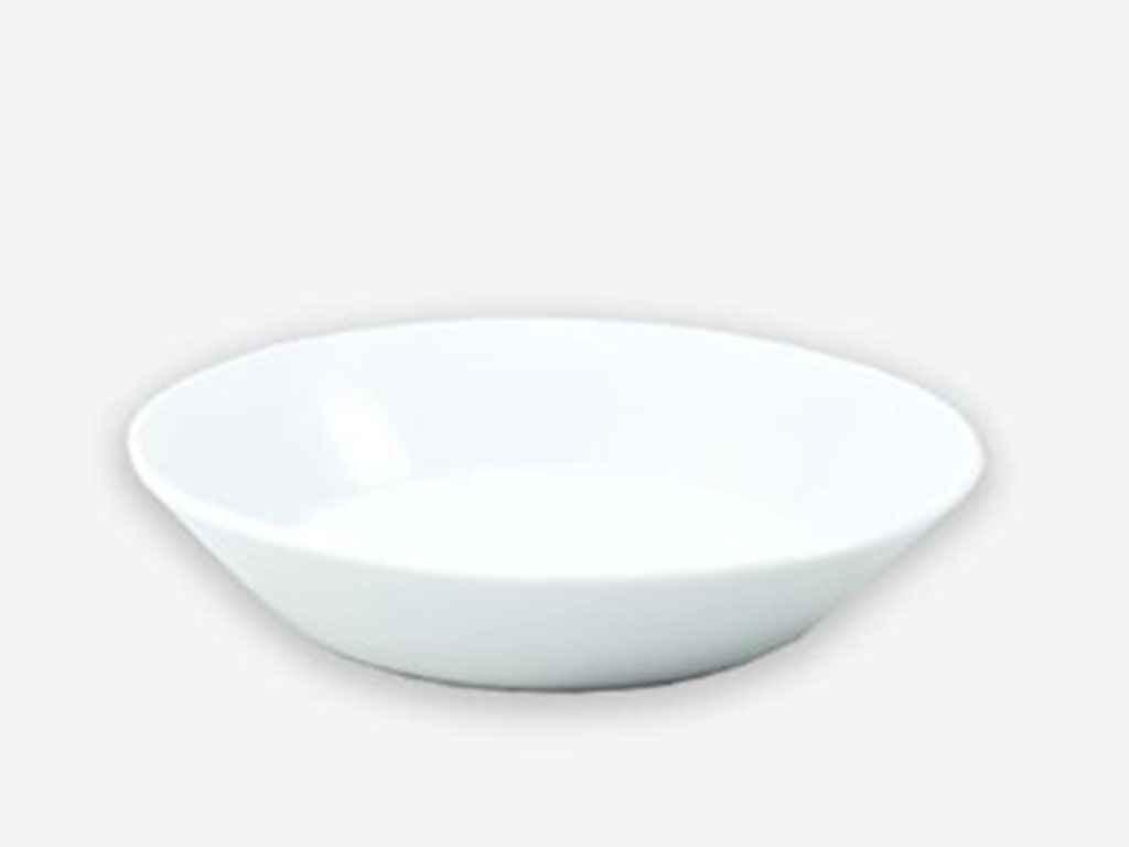 Блюдце ДФЗ Трактирное Біле d=150 мм (00221)