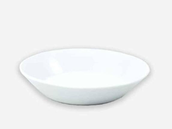 Блюдце ДФЗ Трактирное Біле d=150 мм (00221), фото 2