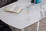 Стол обеденный COVENTRY керамика белый 130/200*89.5 Nicolas (бесплатная доставка), фото 9