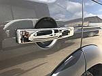 Автотюнінг ручек Land Rover Discovery IV (стальные накладки)