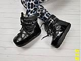Зимние мунбутсы луноходы Moon boots черные Калифорния 36/37 р. (815), фото 4