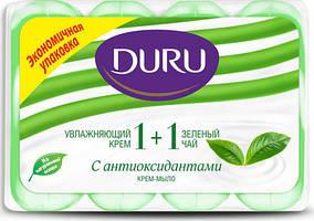 Туалетное мыло Duru 1+1 (4*90) Зелёный чай