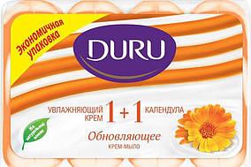 Туалетное мыло Duru 1+1 (4*90) Календула