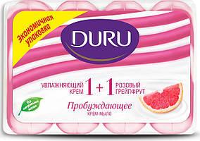 Туалетное мыло Duru 1+1 (4*90) Грейпфрут