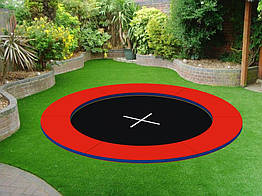 Грунтовой батут  KIDIGO Circle 2,4х2,4 (222706)