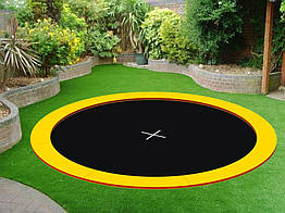 Грунтовой батут KIDIGO  Circle 4,4х4,4 (222708)