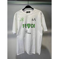 Футболка женская хлопковая Fe Rom сердце