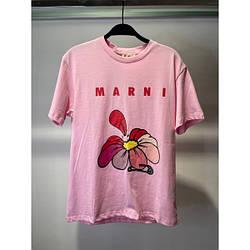 Футболка женская хлопковая Mar цветок