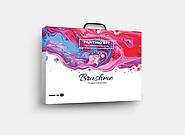 Наборы «Картины по номерам» производителя Brushme.