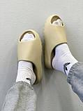 Adidas Yeezy Slide Bone (бежевые), фото 8