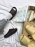 Adidas Yeezy Slide Soot (коричневые), фото 2